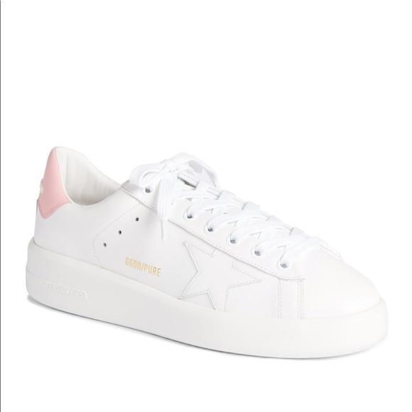 Golden Goose PURESTAR Sneaker White Pink Size 6 36
